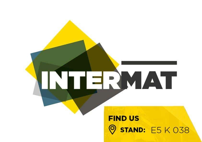 find us at intermat 1