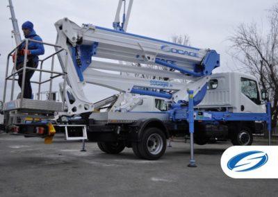 Camion 3500kg con sponda laterale ForSte 24DJ Socage