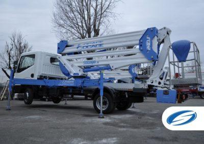 Camion da 3500 kg con sponda idraulica Socage ForSte 24DJ lato sinistro