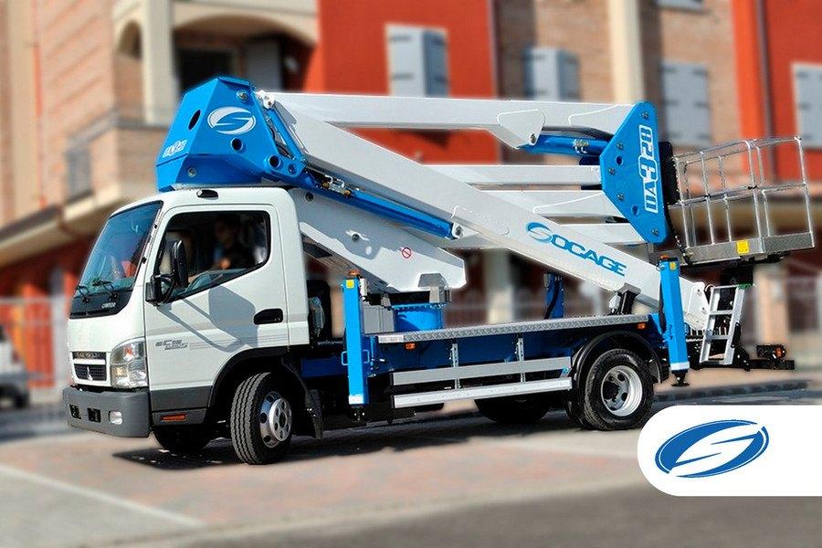 piattaforme elevatrici per camion ForSteDA328 2 lateral Socage