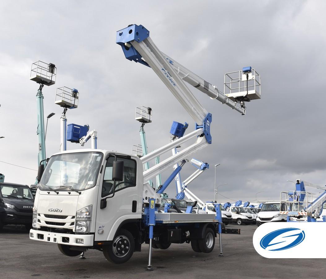 28D speed camion con cestello