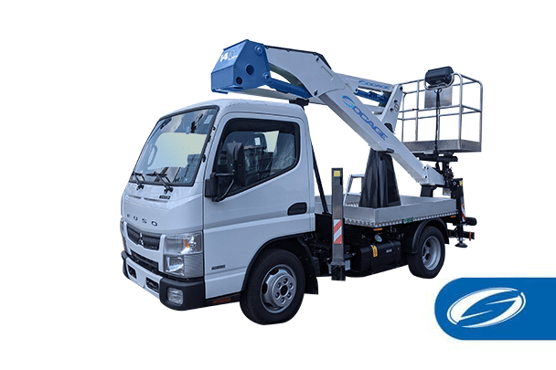 Camion con cestello compatto ForSte 14A