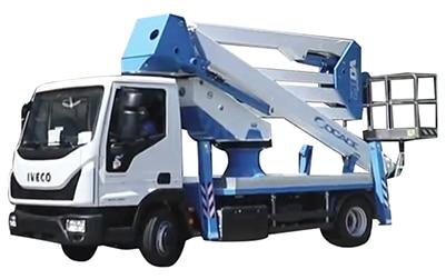 camion con cestello ForSte 28DA speed 2