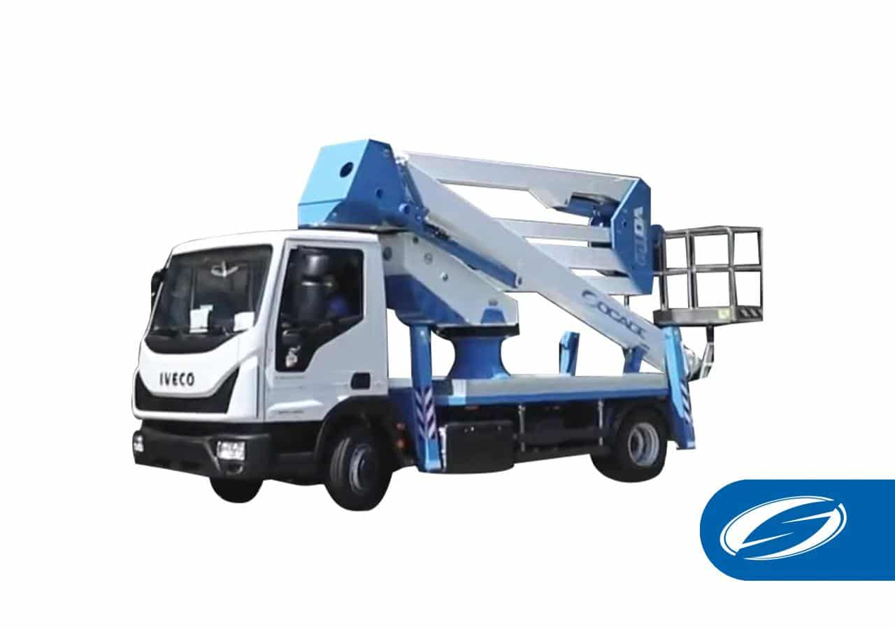 Camion con piattaforma aerea ForSte 28DA speed
