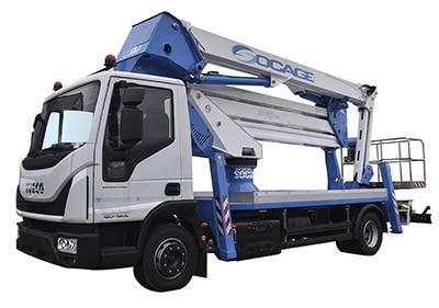 camion con cestello ForSte 32dj speed 2