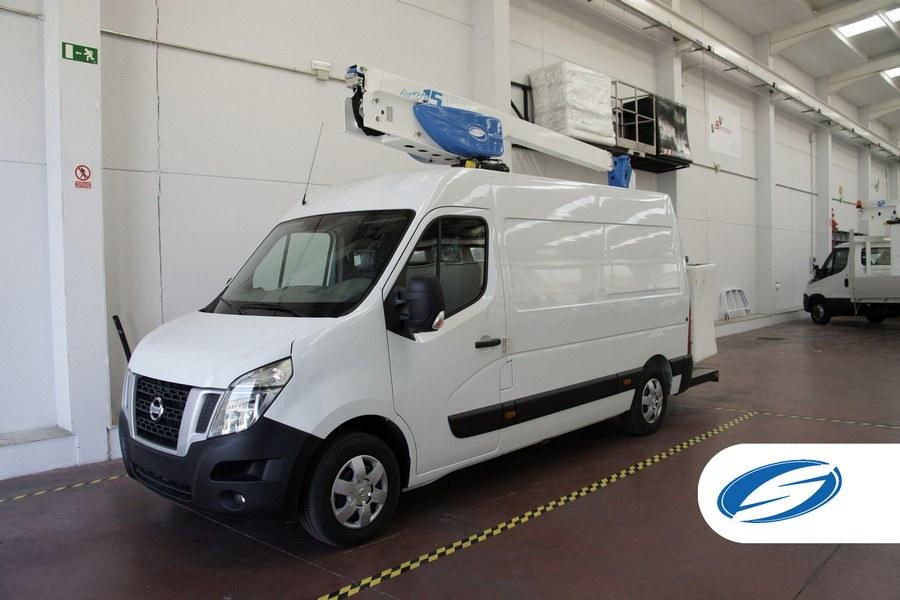 furgone con cestello elevatore ForSte 15VTJ elevata capacità di carico Socage