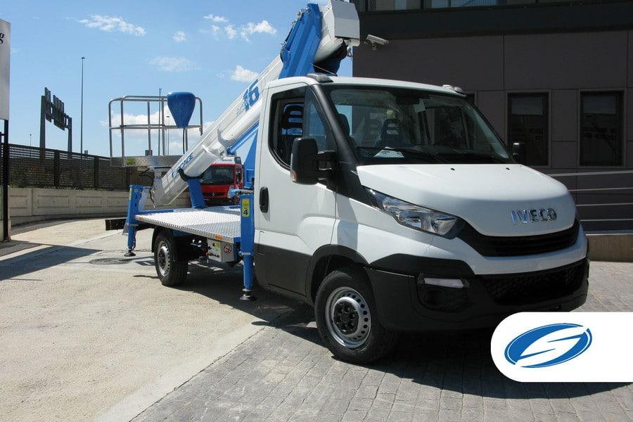 piattaforme elevatrici per camion ForSte 16T platform Socage
