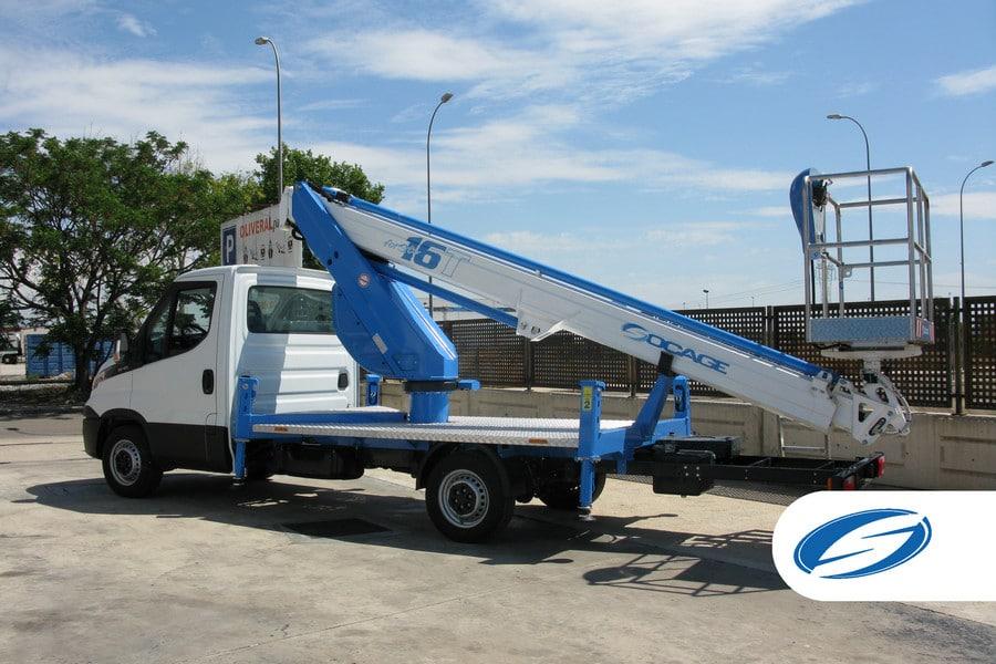 piattaforme elevatrici per camion ForSte 16T sinistra Socage