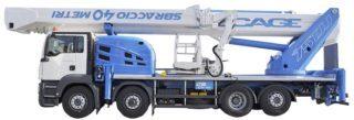 camion con cestello jib 75 m