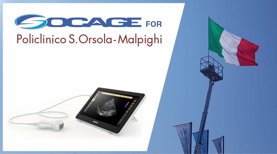 Socage dona innovativo ecografo mobile