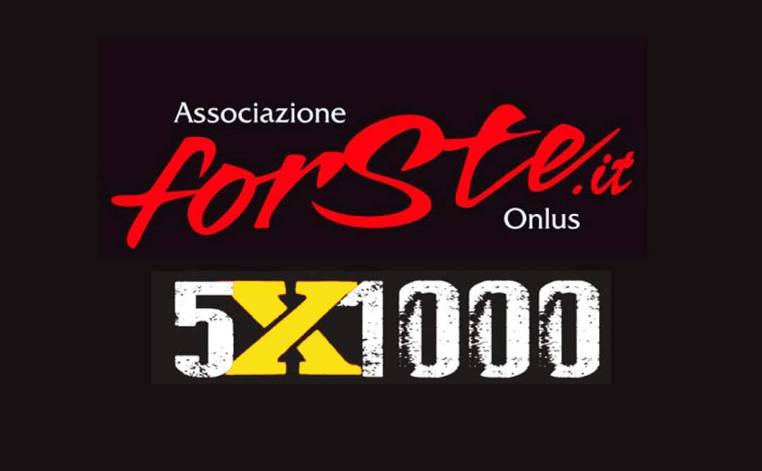 Dona il 5×1000 all'Associazione ForSte, insieme possiamo fare la differenza.