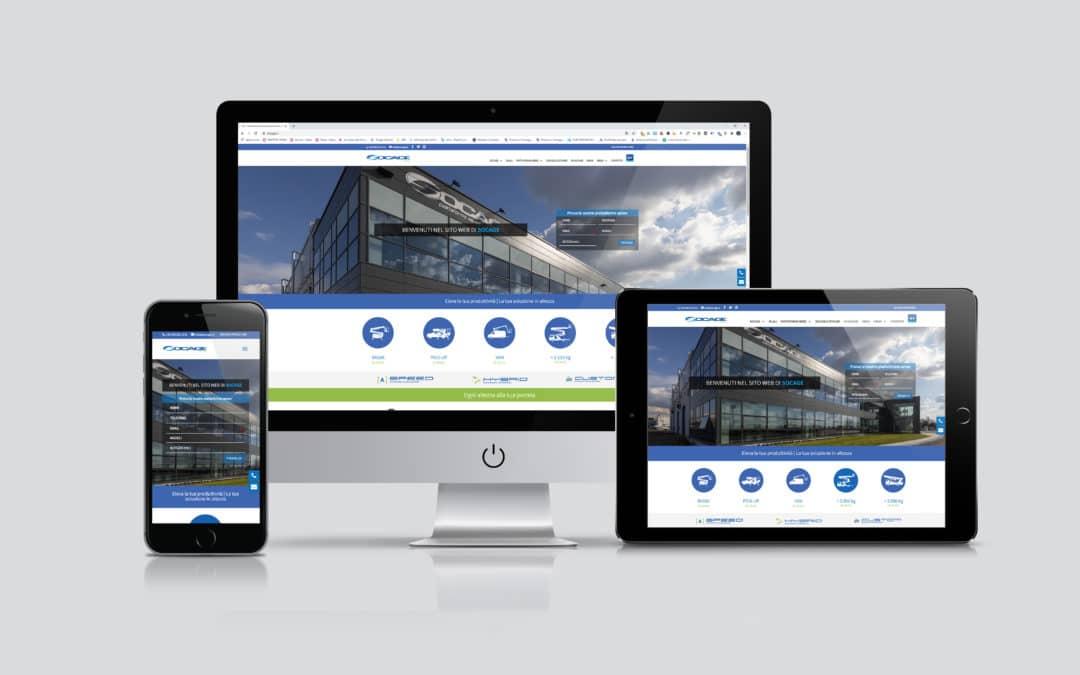 Socage presenta il suo nuovo sito web