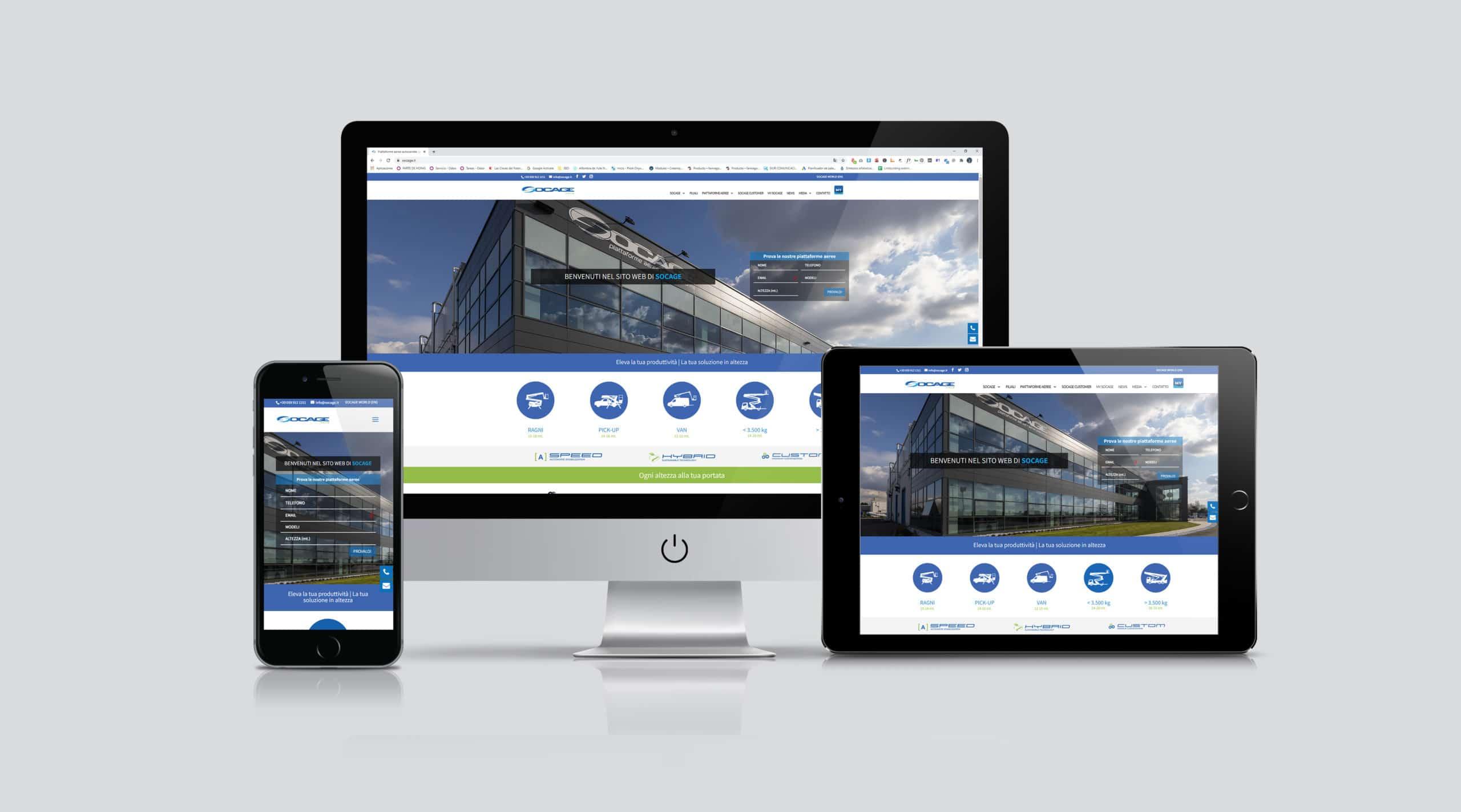 Socage web piattaforme aeree