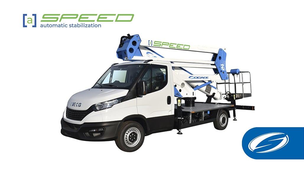 Nuova gamma di piattaforme con stabilizzazione automatica speed