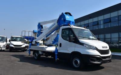 Camion con cestello ForSte 20D SPEED | La piattaforma unica e innovativa